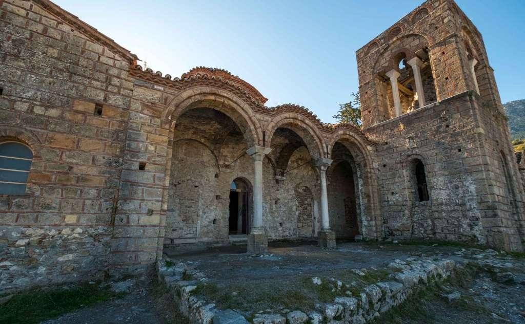 Μυστράς - Εκκλησία Αγία Σοφία