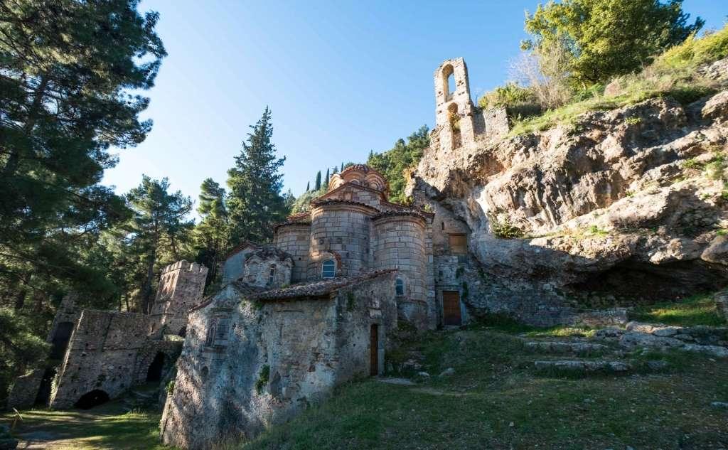 Μυστράς - Μοναστήρι Περίβλεπτος