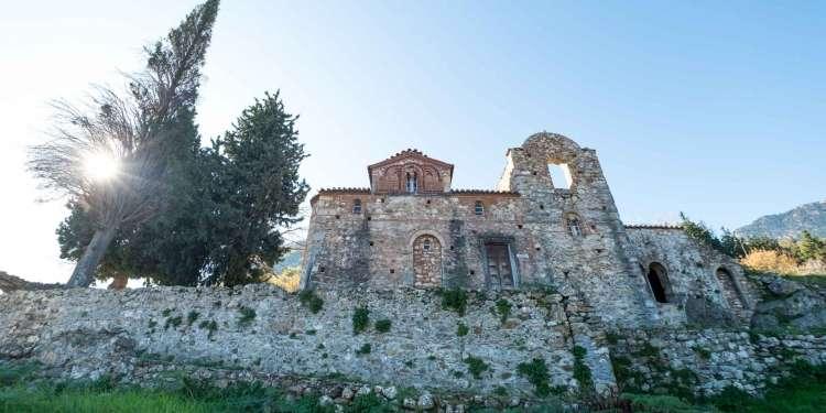 Μυστράς - Εκκλησία Ευαγγελίστρια