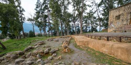 Ακρόπολη Σπάρτης -Ιερό της Αθηνάς Χαλκιοίκου
