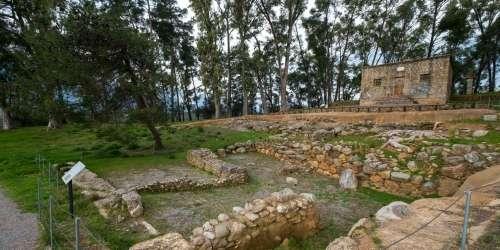 Ακρόπολη Σπάρτης -Αρχαϊκή Στοά