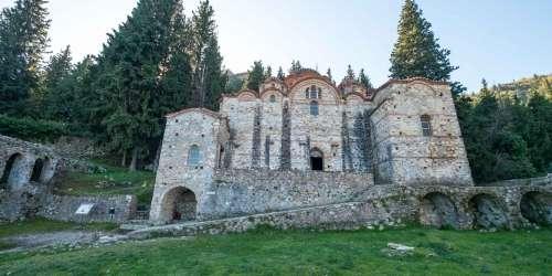 Μυστράς - Εκκλησία Παναγία η Οδηγήτρια (Αφεντικό)