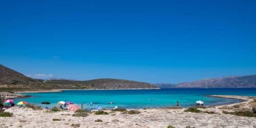 Ελαφόνησος - Παραλία Λεύκη