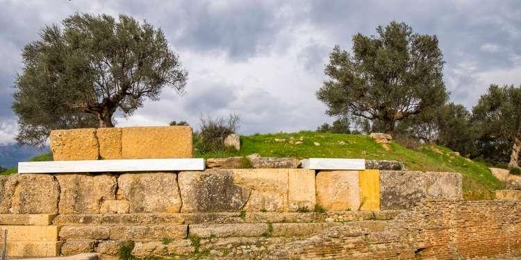 Ακρόπολη Σπάρτης -Ρωμαϊκή Στοά
