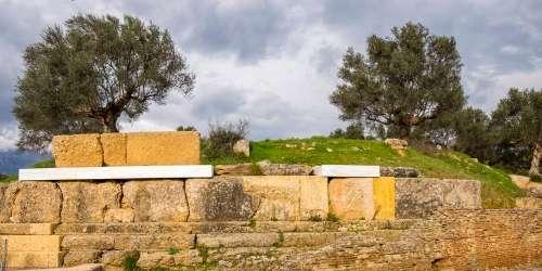Ακρόπολη Σπάρτης -Βυζαντινός ναός στα δυτικά του Κυκλικού Οικοδομήματος