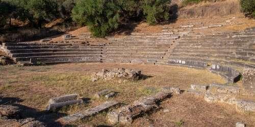 Αρχαίο Θέατρο - Γύθειο